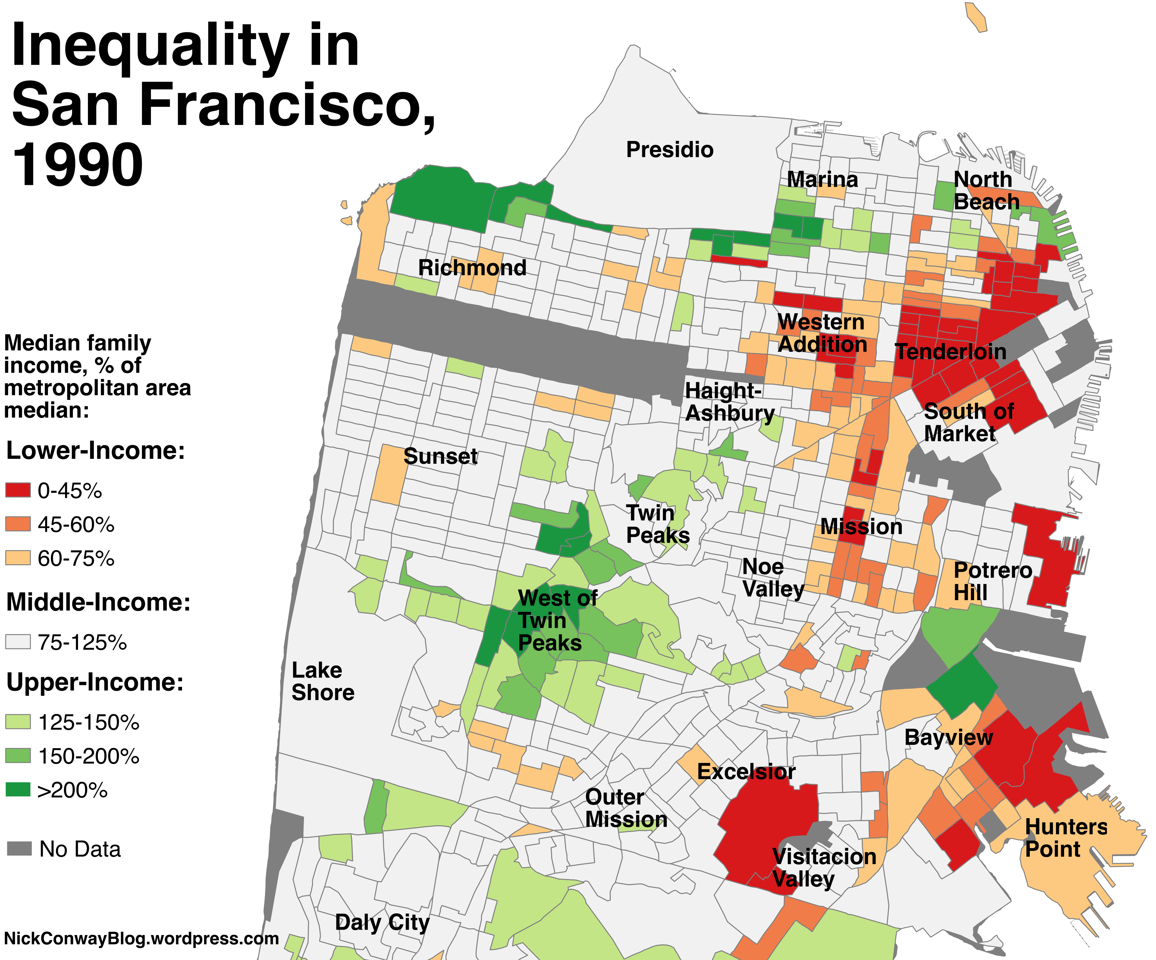 The disappearance of San Franciscos middleclass neighborhoods