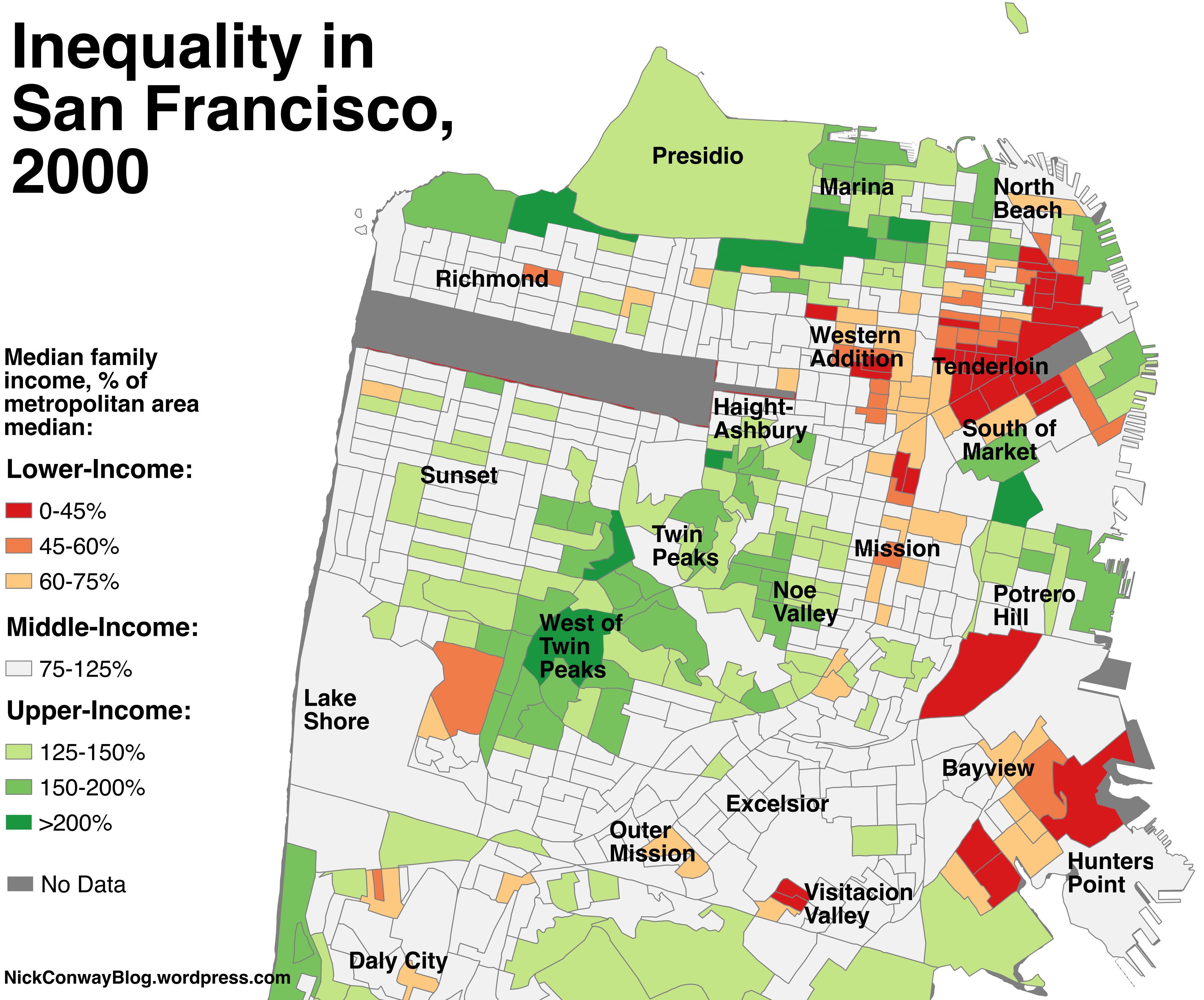 The Disappearance Of San Francisco S Middle Class Neighborhoods